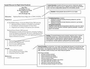 Sample resume for high school student applying to college for College application resume examples for high school seniors
