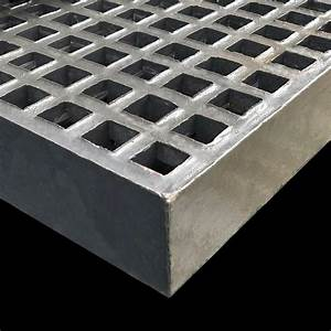 Mini Mesh Grating  40mm Thick  20mm Square  Dark Gray