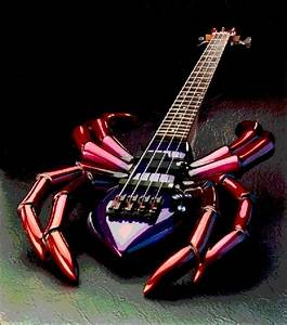 33 Unusual Guitar Designs | Curious, Funny Photos / Pictures