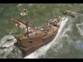 Sinking Ship Simulator Free by The Sinking Of The Galleon Atocha 1622 The Model Youtube