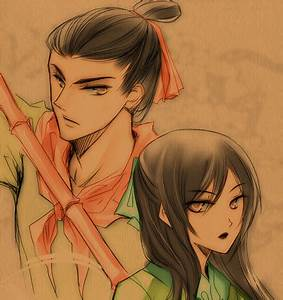 mulan and shang by chugulle on DeviantArt