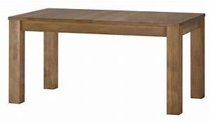 Table Bois Massif Contemporaine : table avec rallonge en bois massif loft mobilier en chene massif pas cher ~ Teatrodelosmanantiales.com Idées de Décoration