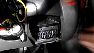 Where Are The Fuses Located On A Ford Fiesta