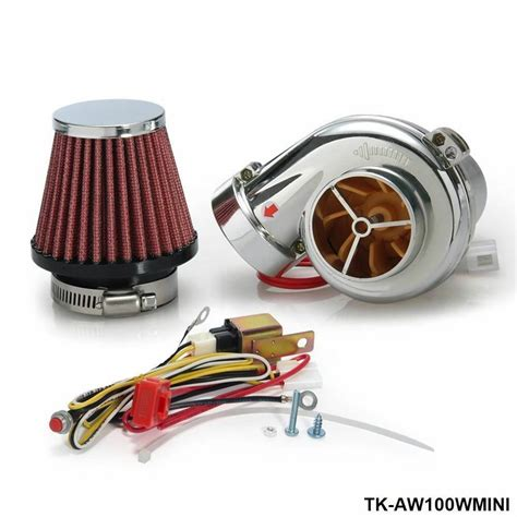 electric electrical turbo turbocharger supercharger kit for motorcycle ebay