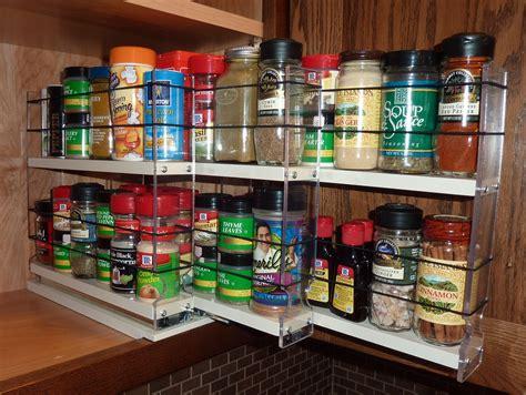 Spice Cupboard Organizer by Kitchen Organizer Spice Drawer Organizer Rotating Rack
