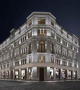 Architecture Neo Classique : view 1 facade lighting pinterest immeuble maison ~ Melissatoandfro.com Idées de Décoration