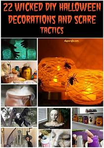 Deco Halloween Diy : 22 wicked diy halloween decorations and scare tactics diy crafts ~ Preciouscoupons.com Idées de Décoration