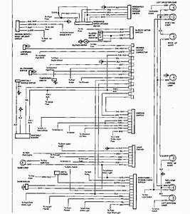 1986 Chevrolet El Camino Wiring Diagram Part 1  61780