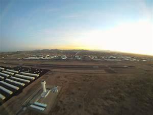 Phoenix Deer Valley  Kdvt   Just After Sunset   Slow Shutter Speed  Wide Angle Lens