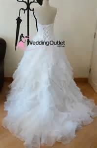 ruffle bridesmaid dress ellie ruffle wedding dresses custom made ab 24 weddingfactoryoutlet co uk wedding outlet