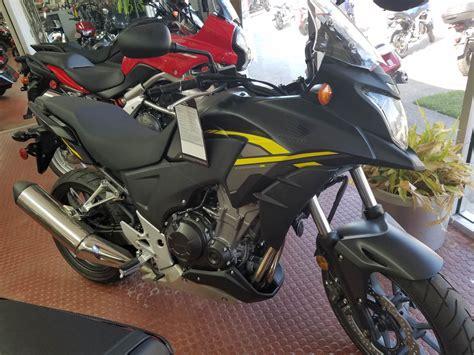 2015 Honda Cb500x Abs Matte Black Metallic / Yellow