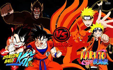 Goku And Naruto Wallpaper