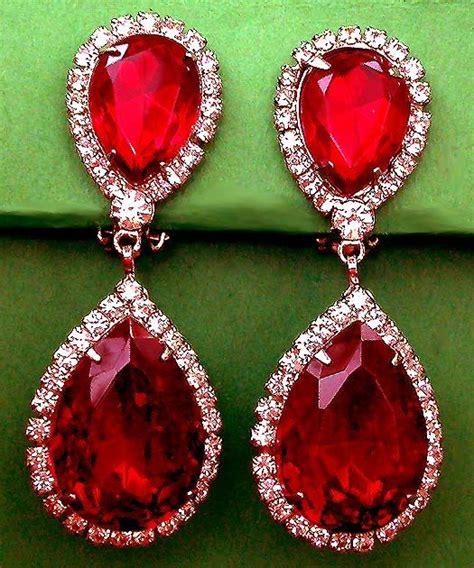 origin   ruby jewelry ruby earrings