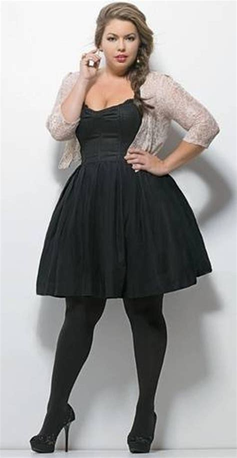 Elegant Plus Size Little Black Dresses Fashionatedesires