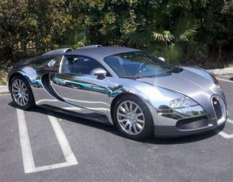 News Flo-rida's Bugatti Veyron Gets Chrome Wrap Treatment