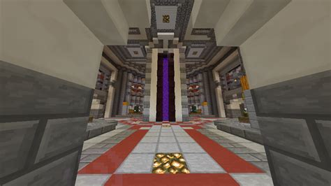 nether hub creation