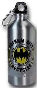 Gotham City Recycles Aluminum Water Bottle