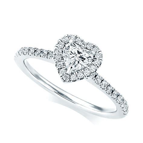 berry s platinum shape surround engagement ring