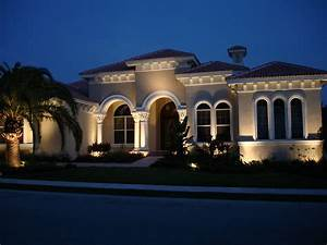 Outdoor lighting tampa nighttime design