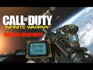 Warfare Call of Duty Infinite Weapons