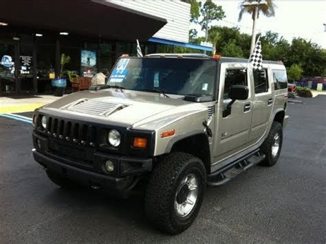 2004 Hummer H2 Review by Autoline Preowned 2004 Hummer H2 Suv For Sale Used Walk