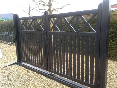 speurders nl inrijpoort houten hek poort