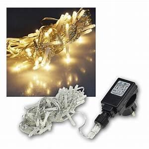 Led Lichtleiste Außen 230v : led lichterketten f r au en und innen mit 40 100 200 400 leds warmwei 230v ip44 ebay ~ Watch28wear.com Haus und Dekorationen