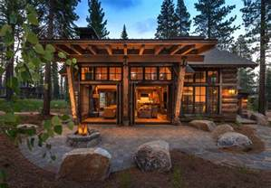 Stunning Images Rustic Mountain House Plans by Cozy Mountain Style Cabin Getaway In Martis C California