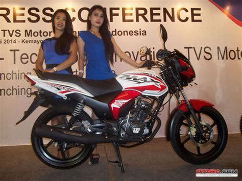 Gambar Motor Tvs Max 125 Semi Trail by Tvs Indonesia Sodorkan Max 125 Dan Semi Trail Otosia