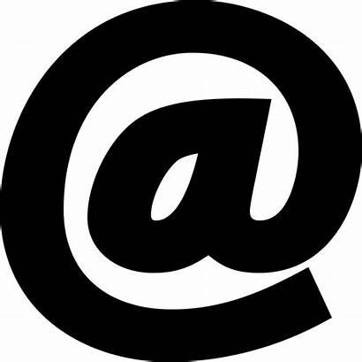Symbol Arroba Icon Sign Address Email Icons