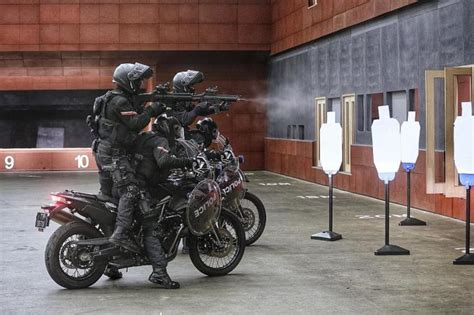 If Terrorists Strike, These Elite Cops Will Ride Into