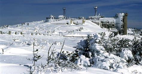 meteo du mont c 233 vennes la station m 233 t 233 o du mont aigoual sauv 233 e le parisien