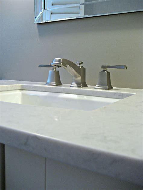 Silestone Lagoon Countertop   Transitional   bathroom