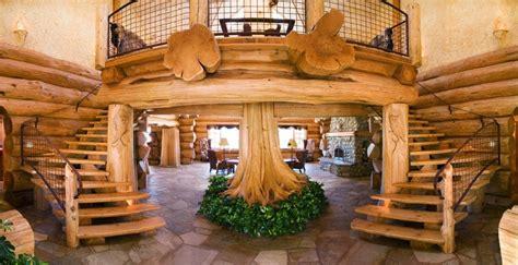 Log Cabin Interiors Design Ideas