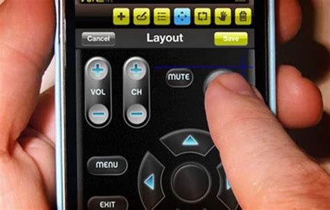 iphone remote apple patent depicts iphone as self programming tv remote