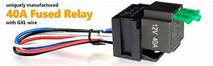 Automotive Fused Relay 40a Spst