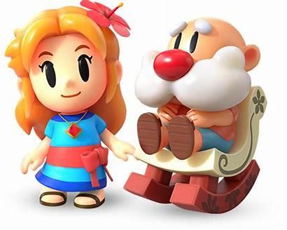 Zelda Awakening Link Links Characters Koholint Beloved