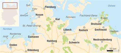 Ostseeinseln Deutschland Karte