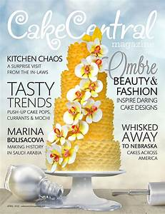 Volume 4 Issue 4 - It's All About Ombre! - CakeCentral com