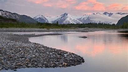 Alaska River Wallpapers Valley Fondos Escritorio Paisajes