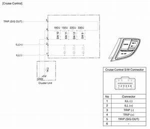 Kia Optima  Cruise Control Switch  Schematic Diagrams