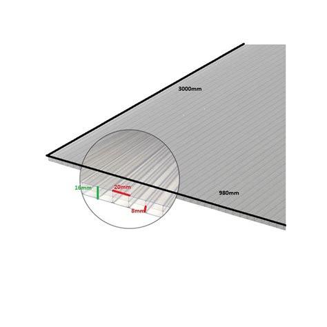 plaque polycarbonate alvéolaire plaque polycarbonate alv 233 olaire 16mm mccover