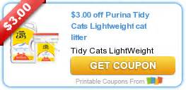 cat litter coupons wow 3 1 any tidy cats lightweight cat litter printable