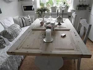 Tisch Aus Alter Tür : sch ne idee tisch aus alter t r besser aber mit ~ Lizthompson.info Haus und Dekorationen