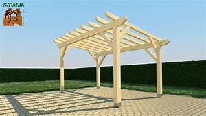 Construire Une Pergola En Bois : dcorer une pergola en bois amazing amazing s jardin ~ Premium-room.com Idées de Décoration