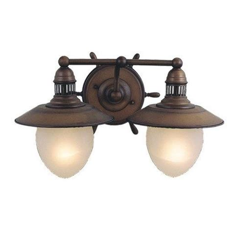 nautical light fixtures new 2 light nautical bathroom vanity lighting fixture