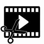 Editor Icon Software Editing Clipart Symbol Film