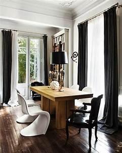 Rideaux Pour Salon Noir Et Blanc. best model rideaux pour salon ...