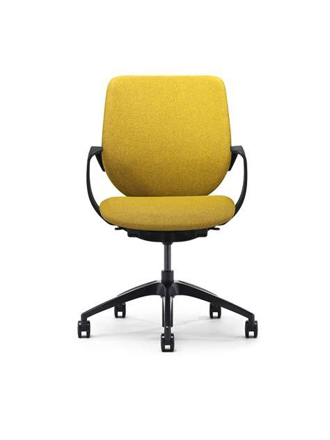 siege pivotant steelnovel chaise fauteuil visiteur giroflex g313