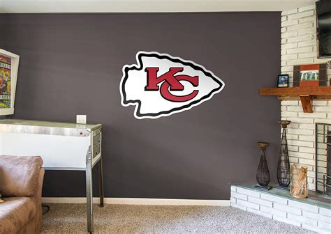 Home Decor Kansas City : Kansas City Chiefs Logo Wall Decal